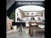Coleridge Rustic Solid Wood Bench | Funky Chunky Furniture